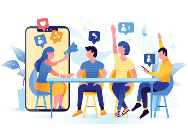 employees-sharing-posts